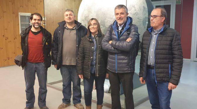 l'AV Turó de Gardeny ens vam poder entrevistar amb el nou gerent del Parc Científic, el senyor Miquel Aran Mayoral