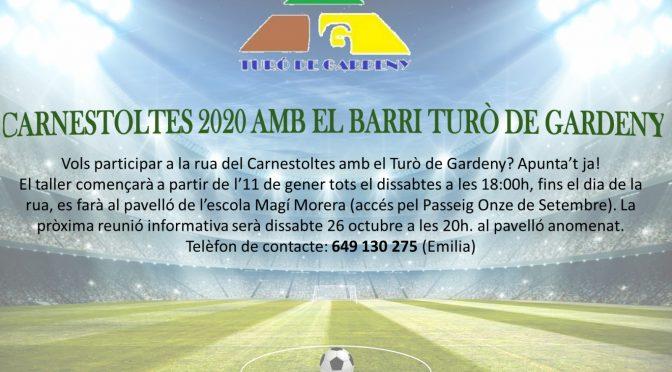 CARNESTOLTES 2020 AMB EL BARRI TURÓ DE GARDENY