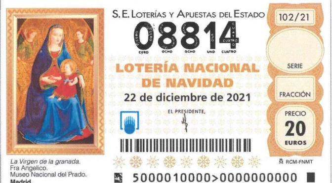 LOTERIA DE NADAL, SEGUR QUE ENGUANY ENS TOCA – DONATIU DE 0,25€ centins per 1€ que jugues